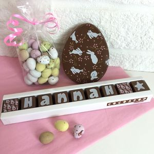 Personalised Easter Chocolate Gift Bag