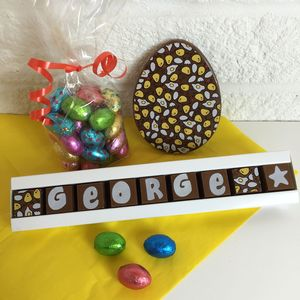 Personalised Easter Chocolate Gift Bag - easter gifts