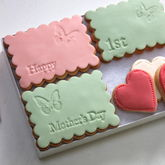 Happy First Mother's Day Cookie Box - food & drink