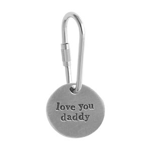 'Love You Daddy' Keyring - gifts for fathers