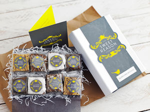 Luxury Gluten Free Brownie Box - dietary food and drink