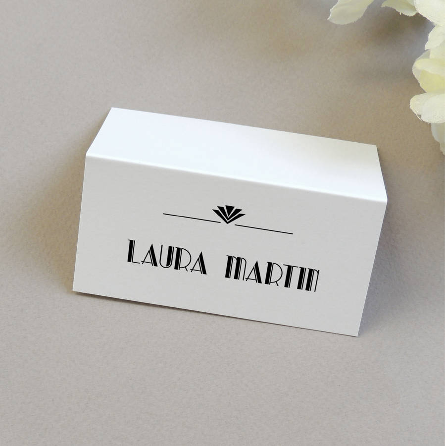 Pc004 Personalised Wedding Name Place Cards Erfly Amp