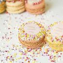 Gift Box Of 12 Happy Mothers Day French Macarons