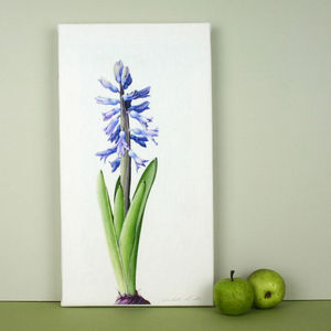 'Hyacinth' Canvas Print - paintings & canvases