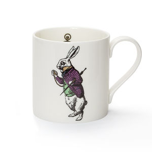 White Rabbit Fine Bone China Mug