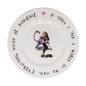 Alice In Wonderland Alice Tea Plate