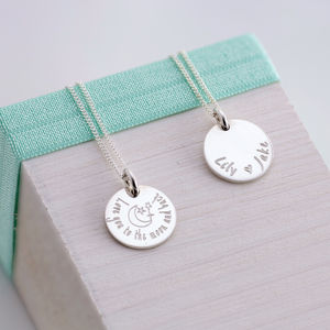 Personalised Sentiment Necklace - necklaces & pendants