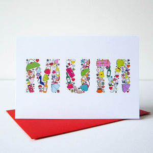 'Mums Things' Card - last-minute cards & wrap