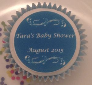 Baby Shower Cupcake Toppers - baby shower gifts