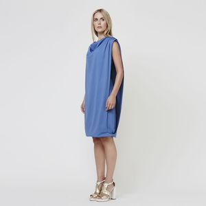 Drapey Layered Nursing Dress - women's fashion
