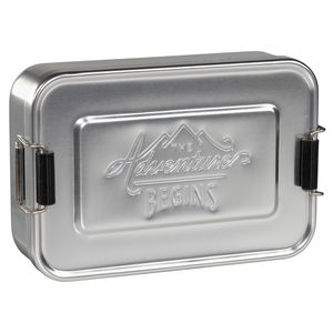 Aluminium Lunch Tin - picnics & barbecues