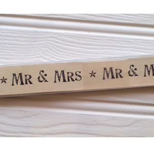 Mr And Mrs Paper Chains