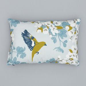 Greenfinch Cushion - cushions