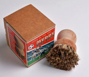 Football Muddy Boot Brush - gifts under £15