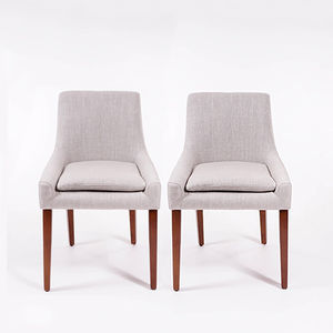 Idris Dining Chair Pair - kitchen