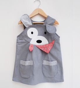 Puppy Dog Play Dress - clothing