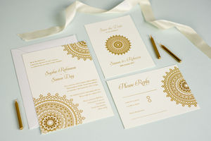 'Eternity' Wedding Stationery Set