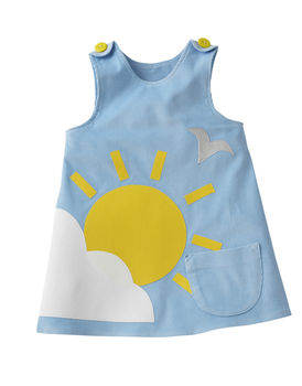 Sunny Blue Sky Dress