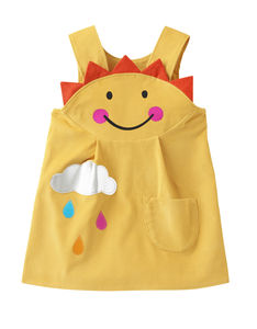 Sunshine Smiley Face Dress - children's parties