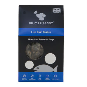 Fish Skin Cubes - dogs