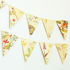 Nature Bunting - room decorations