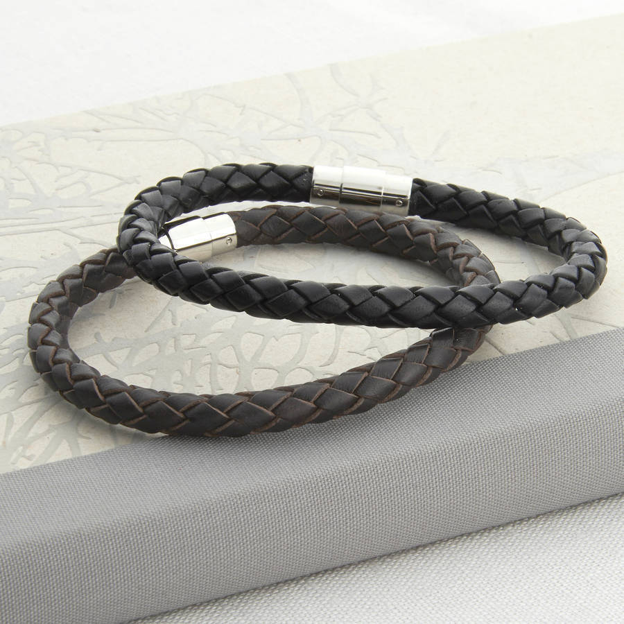 leather bracelet for men - photo #31