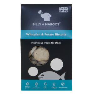 Whitefish And Potato Biscuits - dog treats & food