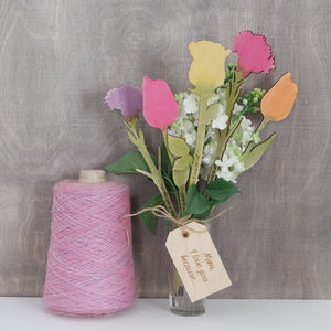 I Love You Because…Personalised Flowers - gifts for mothers