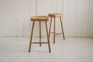 Weathered Oak Cricket Stool - furniture