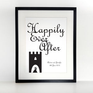 Happily Ever After, A3 Print