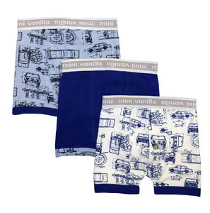 Boys Three Pack Of Boxer Shorts Gift Boxed