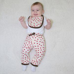 Star Print Organic Pyjama Bottoms - nightwear