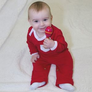 Red Tracksuit Bottoms With Tie Up - trousers & leggings