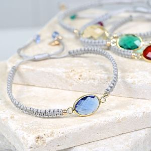 Birthstone Friendship Bracelet - women's sale