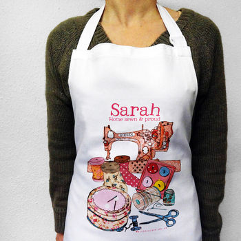 Personalised Sewing Apron