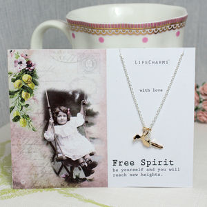 'Free Spirit' Charm Necklace