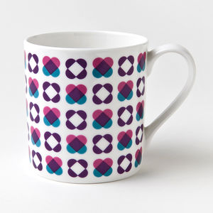 Cross My Heart China Mug