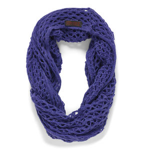 Purple Linked Snood - women's accessories