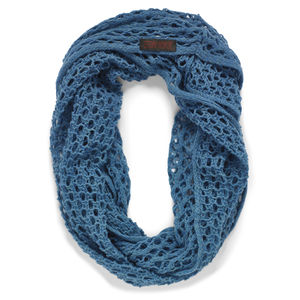 Teal Linked Snood - womens