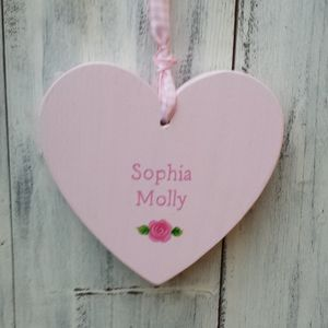 Rose Heart - wedding favours