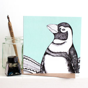 Pack Of Four Humboldt Penguin Gift Card