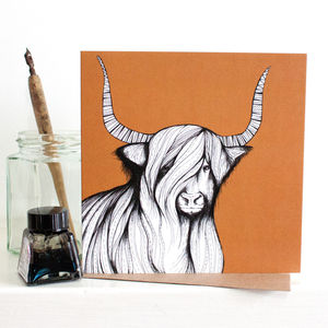 Highland Cow Gift Card