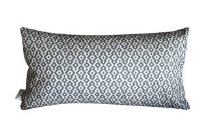 Slate Aztec 25 X 50 Cushion - patterned cushions