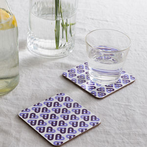 Cordello Heart Coasters
