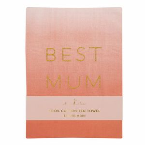 Best Mum Tea Towel