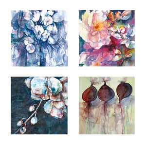 Fine Art Watercolour Gift Cards Pack One