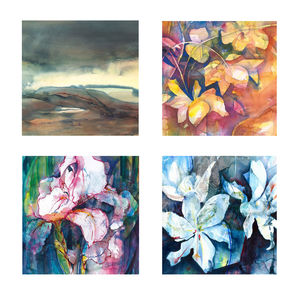 Fine Art Watercolour Gift Cards Pack Two