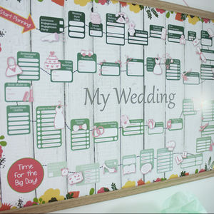 Wedding Planner And Organiser Print
