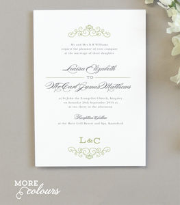 Eva Wedding Invitation - invitations