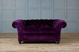 The Monty Velvet Chesterfield Sofa - sofas